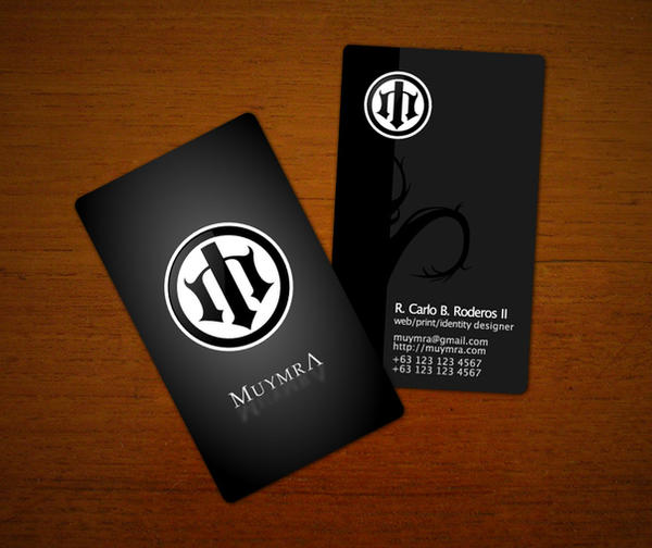 Muymra business cards by loc0