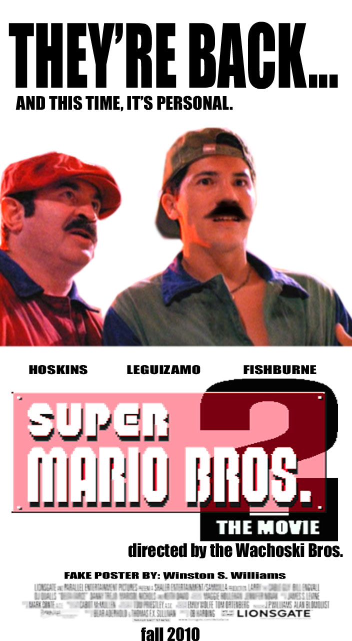 mario 2 movie poster by winstonwilliams on deviantart