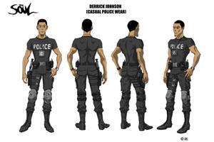 DJ Casual Police Wear Style sheet by WinstonWilliams