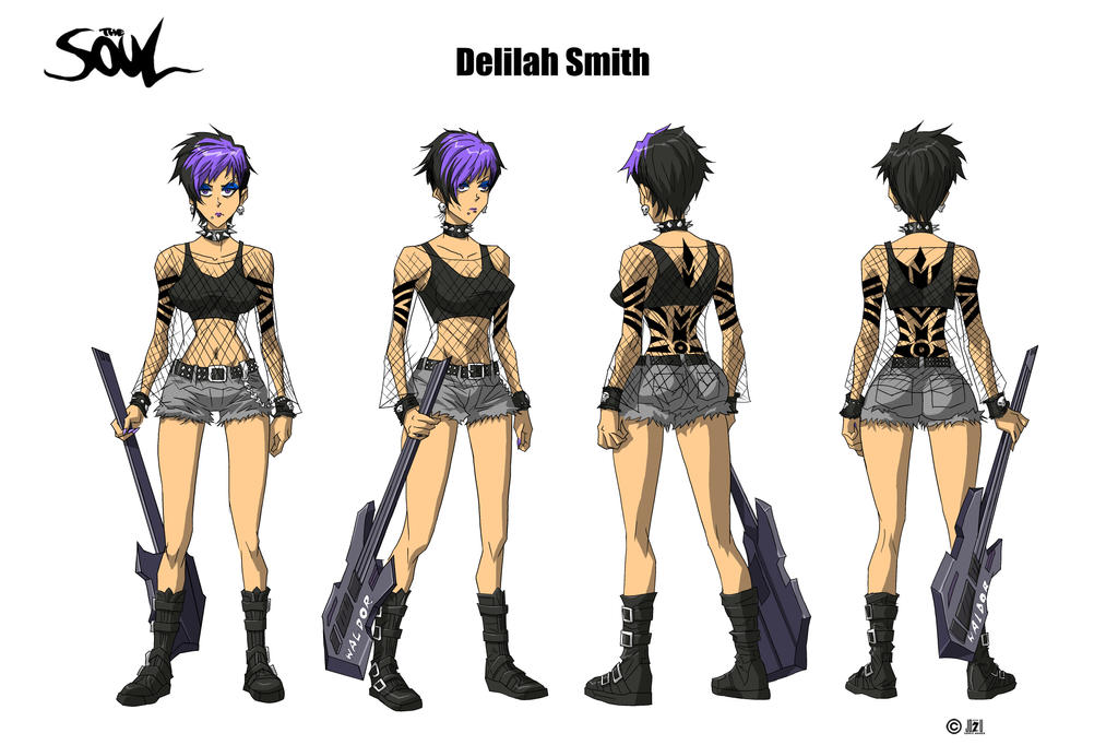 Delilah Smith color by WinstonWilliams