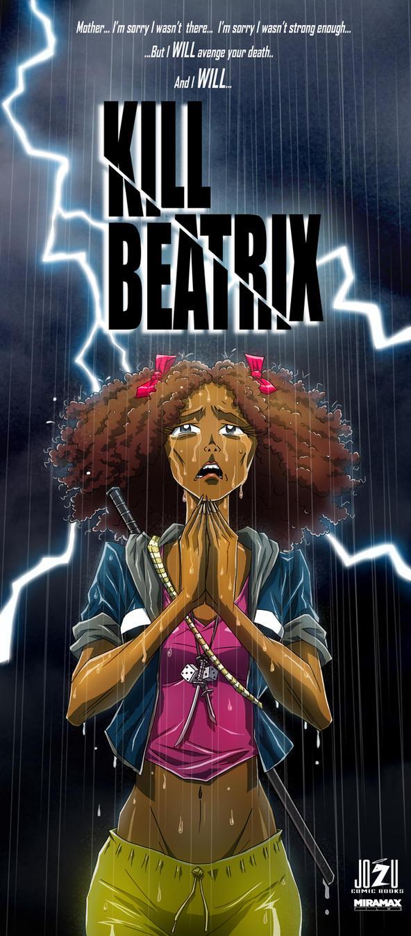 Kill Beatrix poster concept! by WinstonWilliams