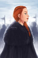 Sansa of House Stark by nanali-chi