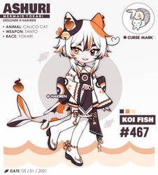 mermay ashuri: koi (CLOSED)