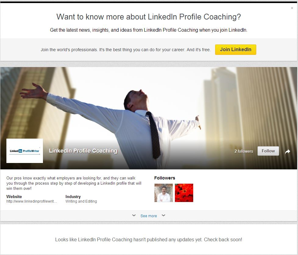 What To Know More About Linkedin Profile Coaching By