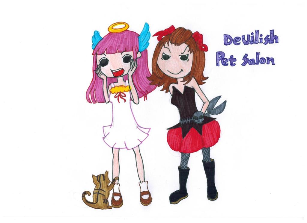 Devilish Pet Salon by Artsygurl97 on DeviantArt