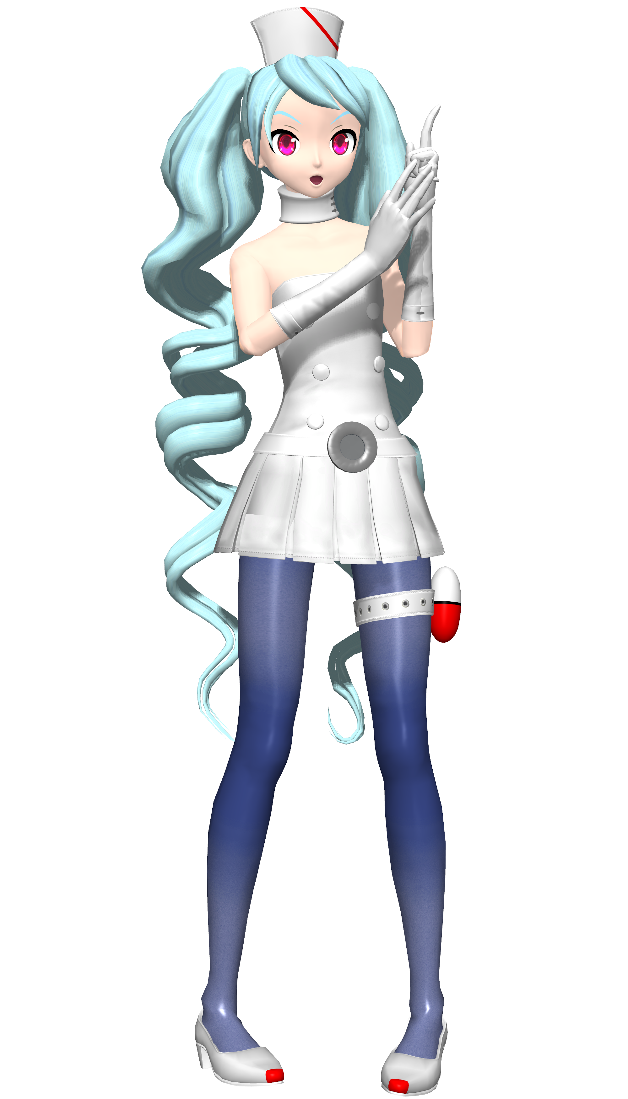 dt 2nd spacy nurse miku by sushi