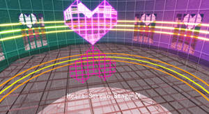 MMD Heart Screen Stage DL by Sushi-Kittie