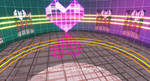 MMD Heart Screen Stage DL