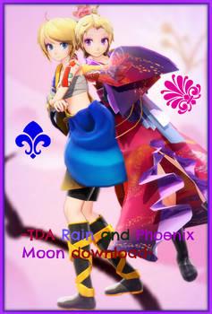 [500 Watchers Gift] -TDA Rain and Phoenix Moon DL- by Sushi-Kittie