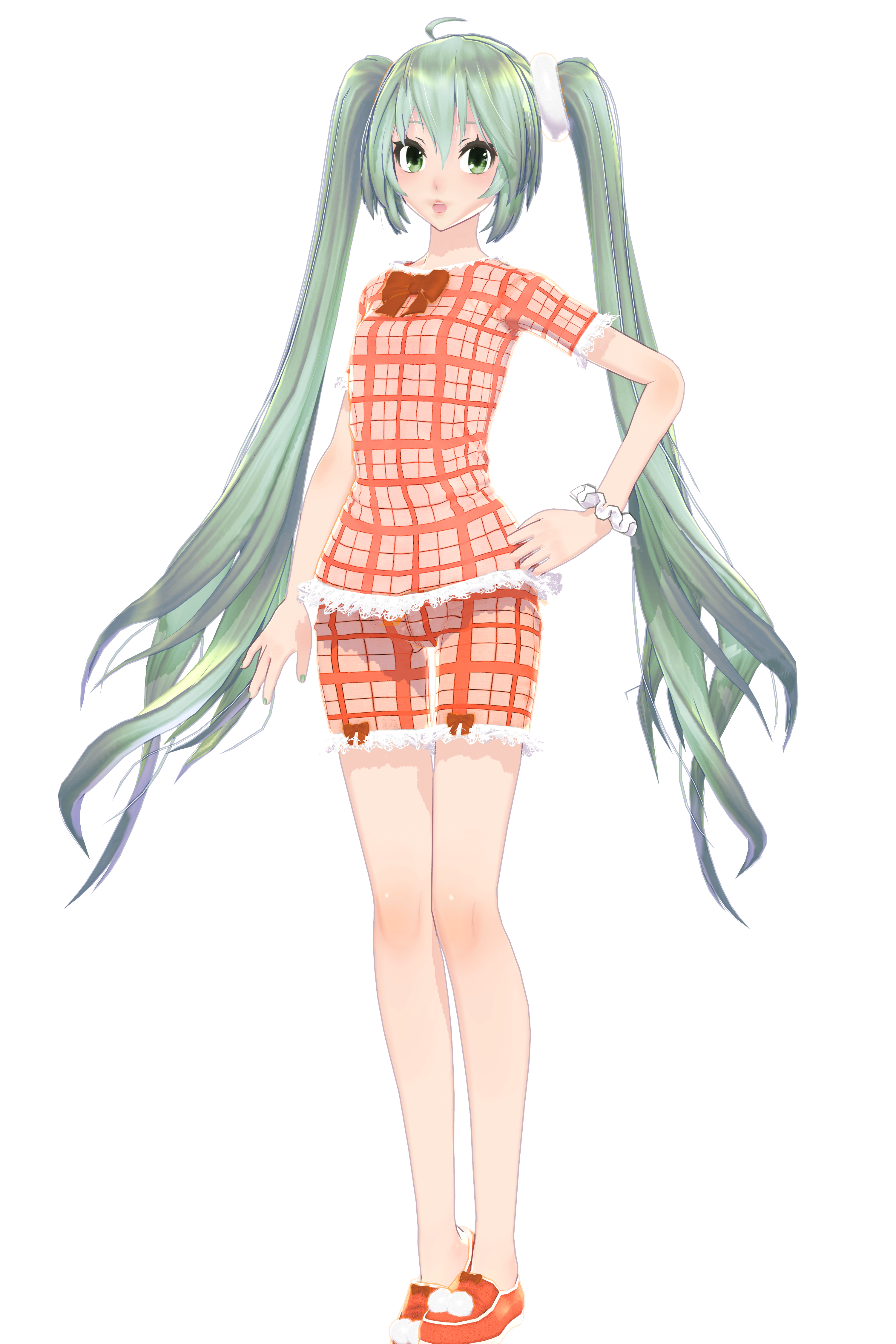 Sorry Miku But Your Outfit Goes From Red To Orange By