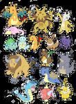 Pokemon stikers