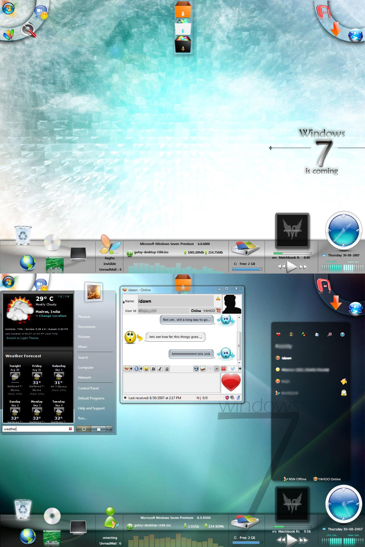 Poszukuję tego theme do Windows 7