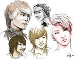 SHINing sketches