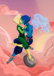 Lapidot Flying Into The Sunset