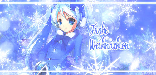 Frohe Weihnachten - Hatsune Miku