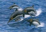 Ichthyosaurs by EsthervanHulsen