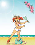 Summer Sukie by neko-productions