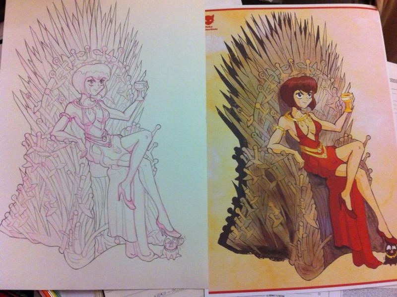 from pencils to print by neko-productions