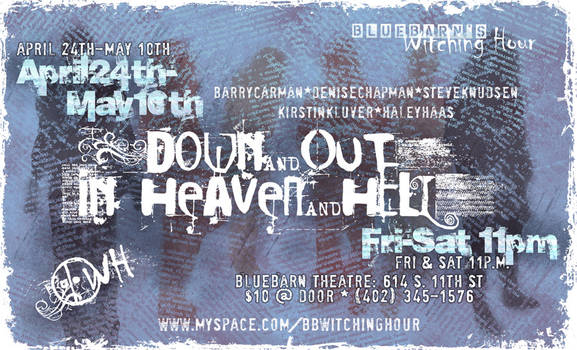 Poster for 'Down and Out...'