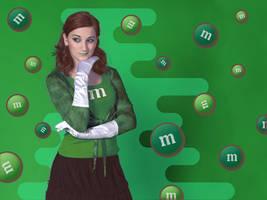 Green M + M