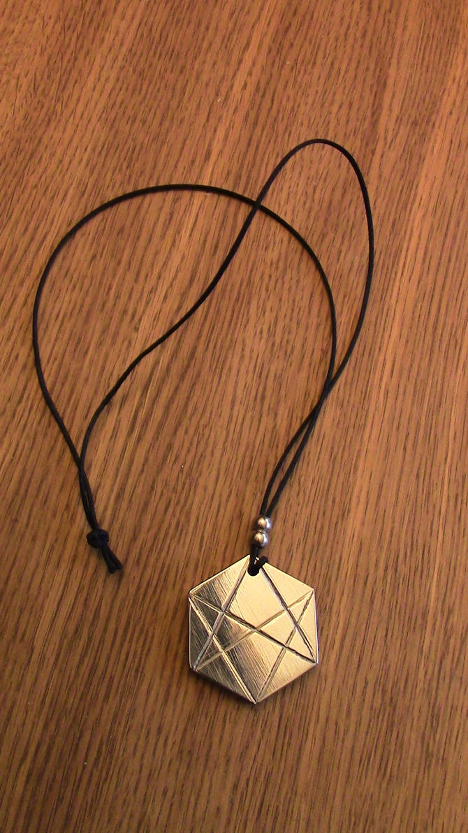 Unicursal hexagram pendant by lersso on deviantart unicursal hexagram pendant by lersso mozeypictures Images