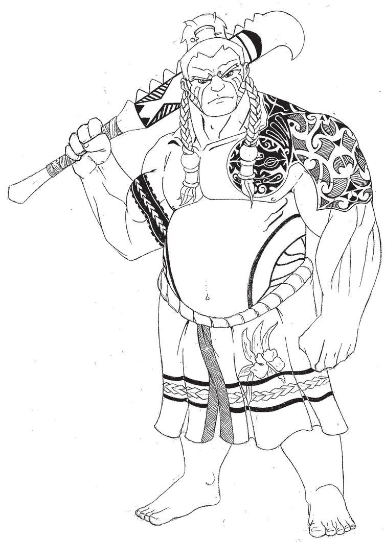 Samoan E. Honda by angryelfproductions on DeviantArt
