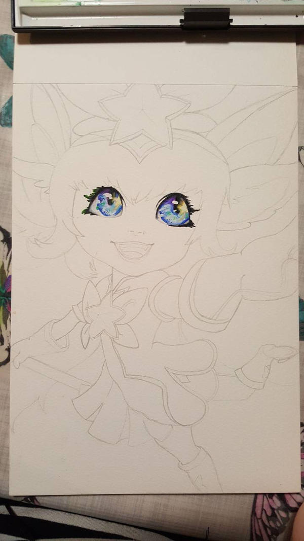 star guardian lulu wip 2 by Katanatix