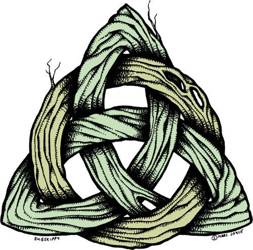 Celtic Trinity Knot by bugskippy on DeviantArt