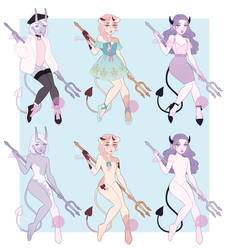 Concubus Fashion Adoptables CLOSED by PetitePasserine