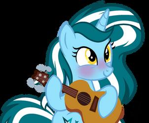 [OC] Sapphire's ukulele [Base Edit] by SapphireTwinkle