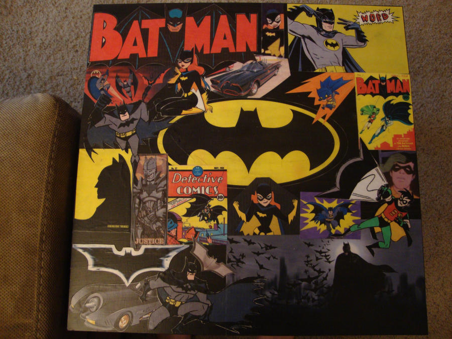 Batman Coffee Table by BoxxyBox ... - Batman Coffee Table By BoxxyBox On DeviantArt