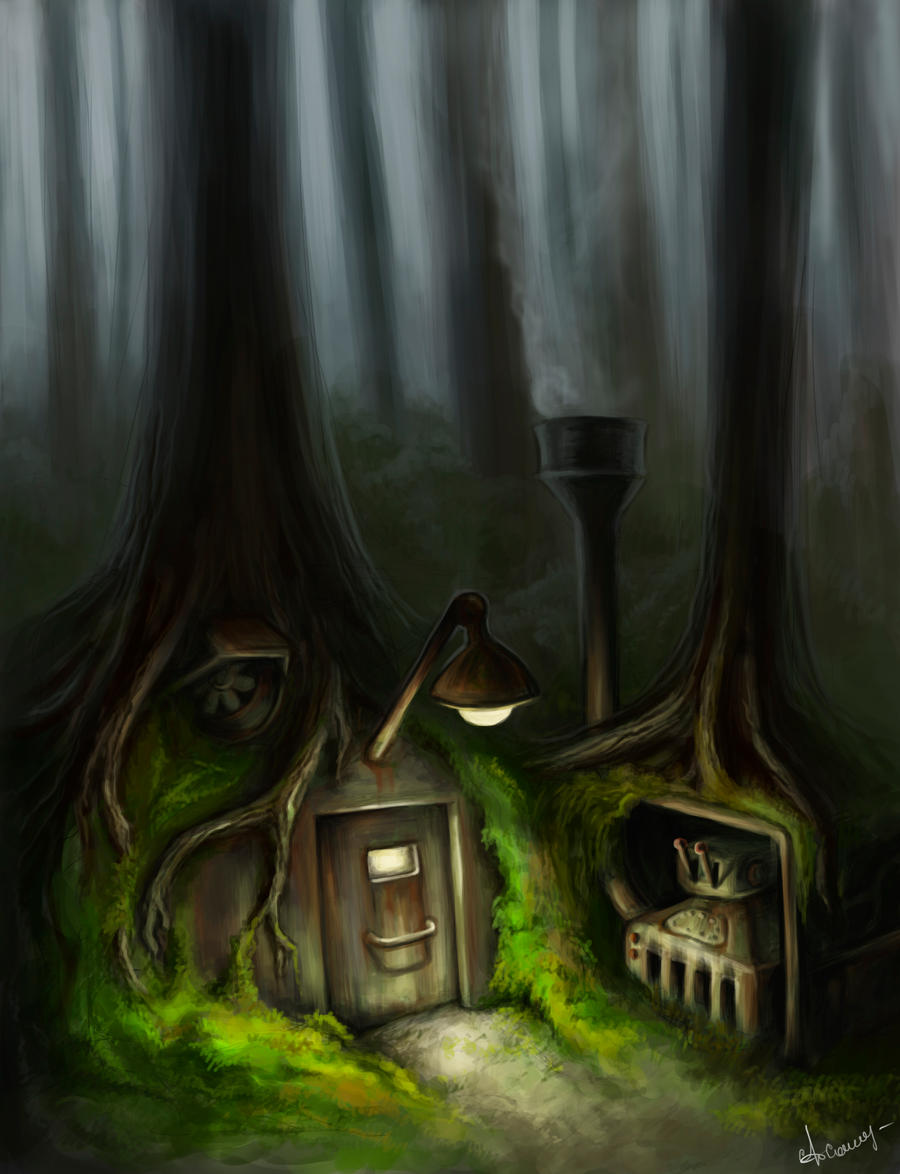 forest shelter by emotiON-founder