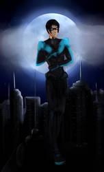 Nightwing by Rinalpha