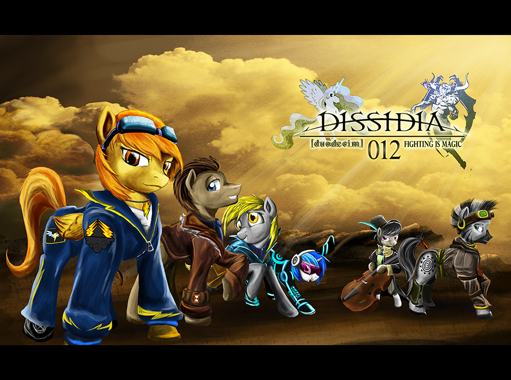 Dissidia Duodecim FiM The other mane 6 by DLowell
