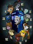 The many faces of Doctor Whooves