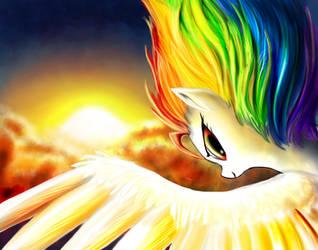 Super Rainbow Dash by DLowell