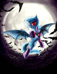 The Great and Battyful Trixie in socks