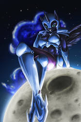 Nightmare Moon by DLowell
