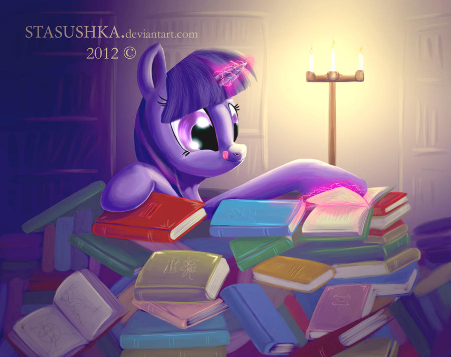 Twilight Sparkle_in paradise by Stasushka
