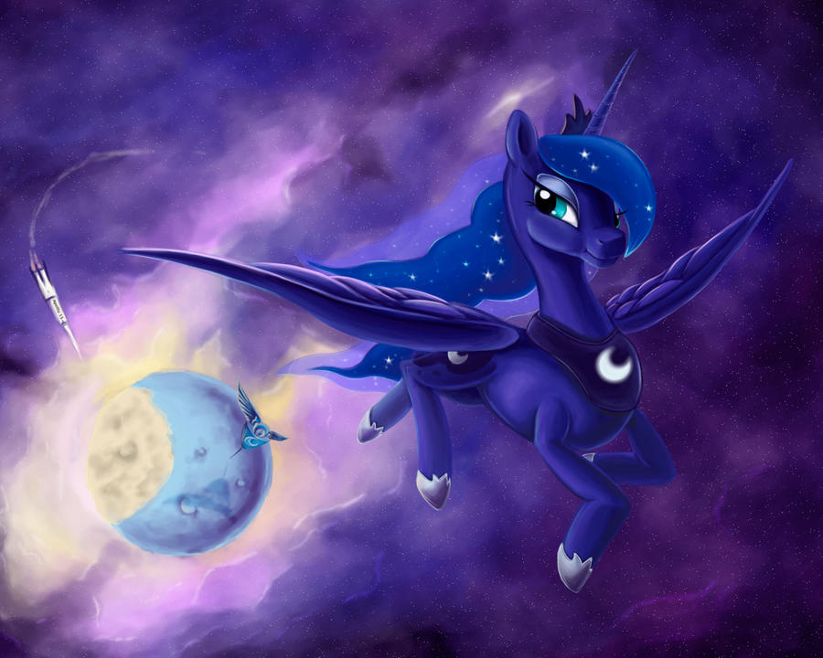 Princess Luna: they think they were first by Stasushka