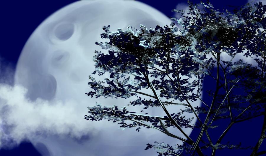 Flash mob_Landscapes_moonscape by Stasushka