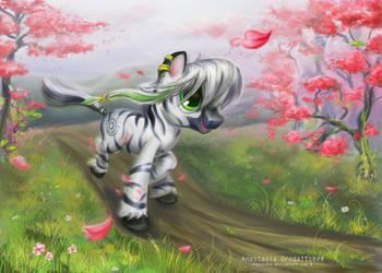 Zebra-Patrick: run for love by Stasushka