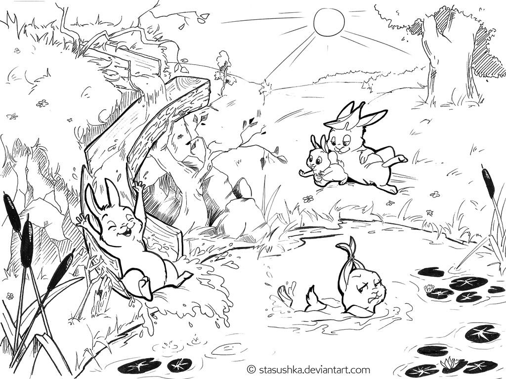 Summertime! (BunnyStories6) by Stasushka