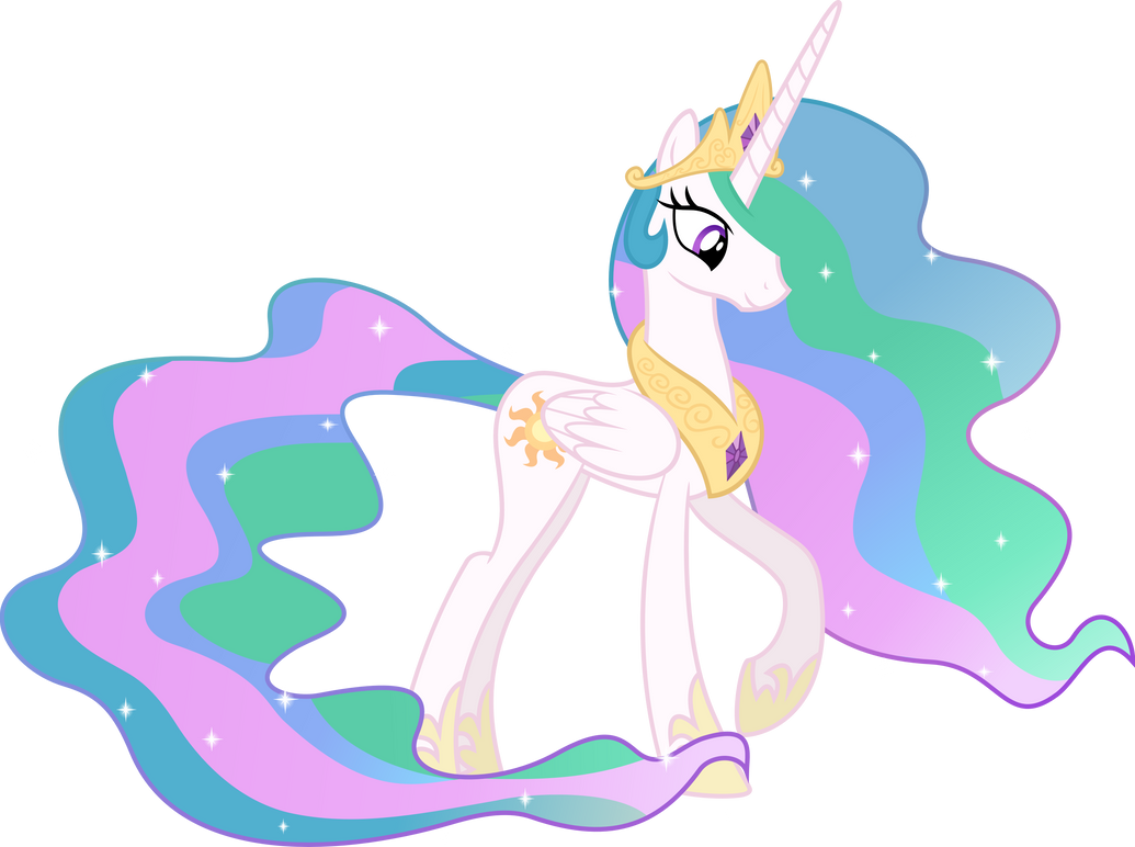 Princess Celestia by spier17