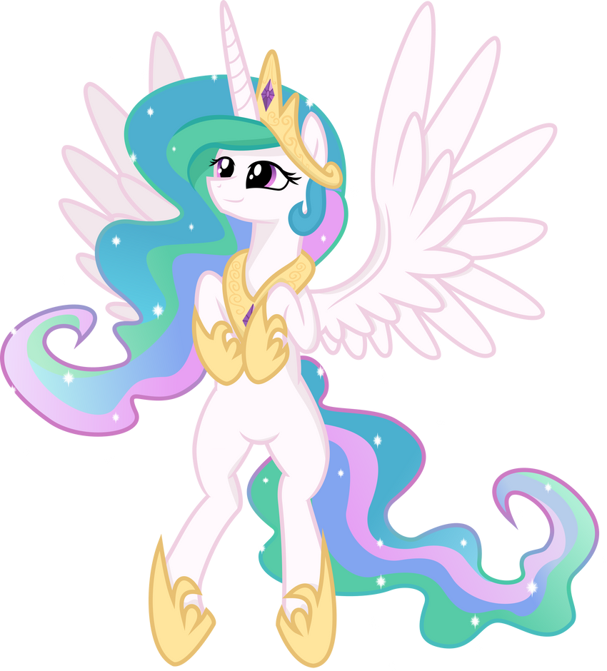 Princess Celestia :D by spier17