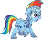Knight Rainbow Dash