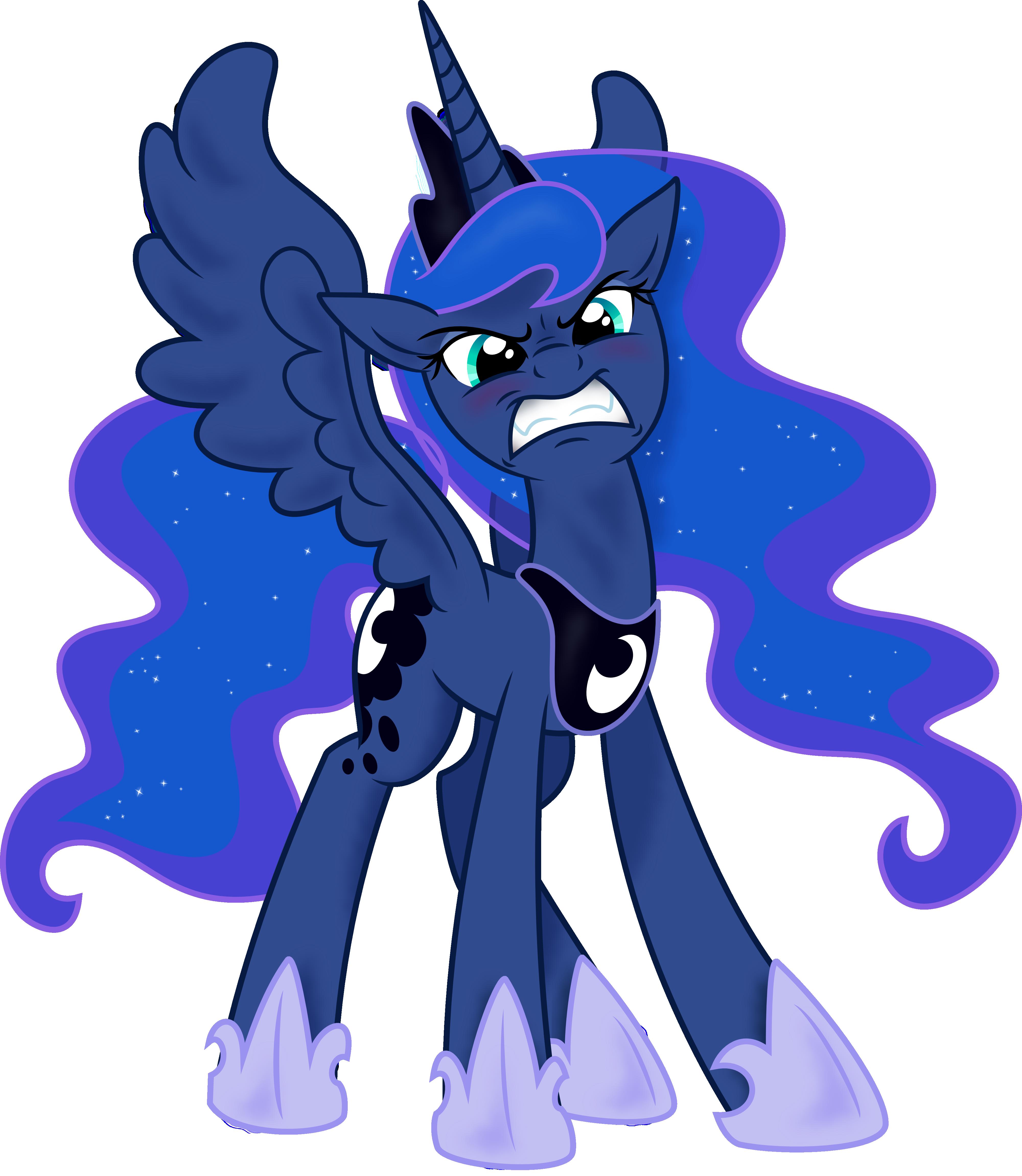 Luna's Temper by spier17