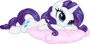 Rarity Relaxing by spier17