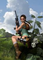Dangerous Lara by Balakir