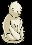 Ivory Fertility Statue by TarkeeTales